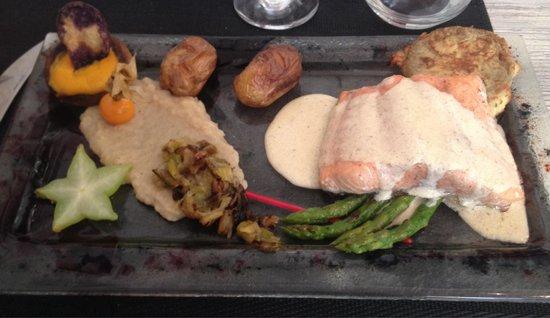 Le Vauban : Saumon crème Aneth-Parmesan