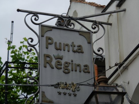 Albergo Punta Regina : hotel sign