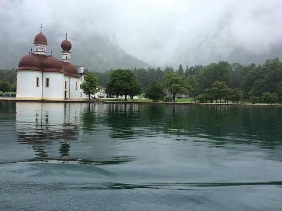 Königssee : one of the halts on the way