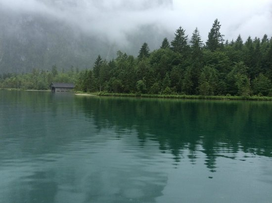 Königssee : A view of the lake from the boat