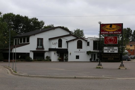 Sunset Inn on the Park: Naboen Restaurant Churchill