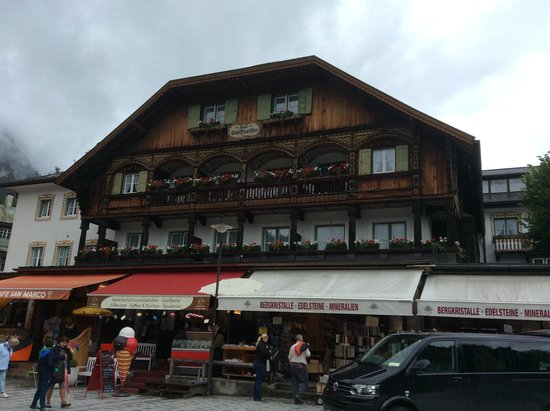 Königssee : The market near the starting points of the boat