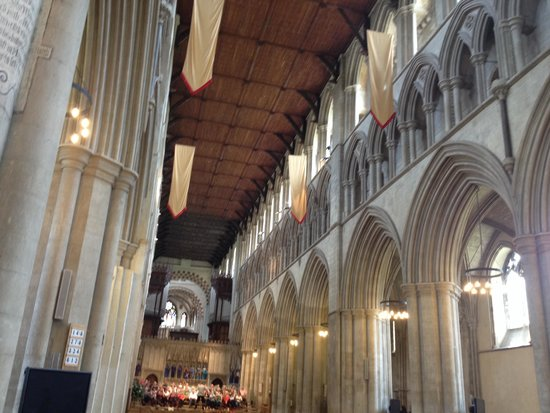 St Albans Cathedral: The Nave