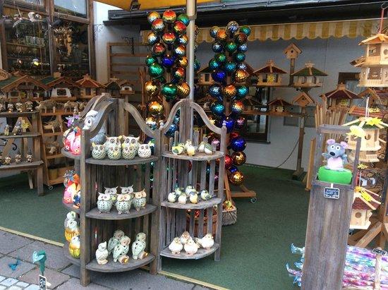 Königssee : A shop near the lake