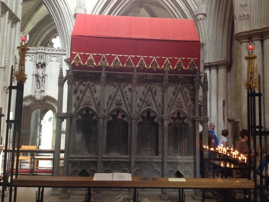 St Albans Cathedral: The Shrine to St.Albans