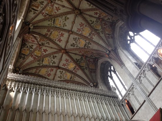 St Albans Cathedral: Beautiful cathedral ceiling