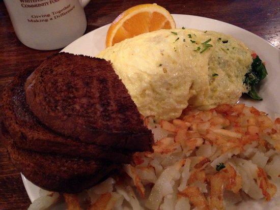 Buffalo Cafe & Nightly Grill: Medditeranian omelet