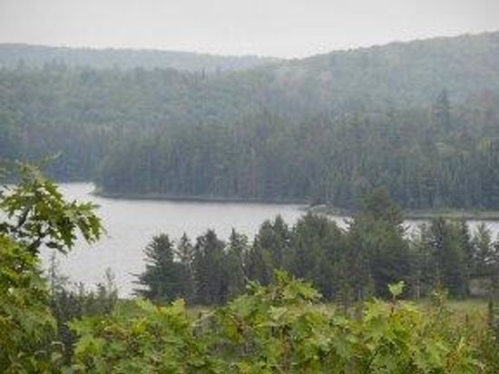 Mew Lake Campground: View From Visitors Center