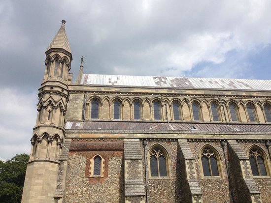 St Albans Cathedral: The bell tower
