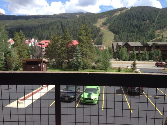 Oro Grande: Balcony view in July