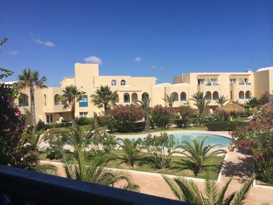 Hotel Djerba Les Dunes: Vu de ma chambre