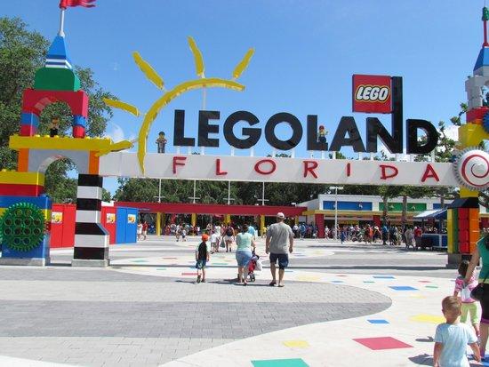 LEGOLAND Florida Resort: Entrada do Parque