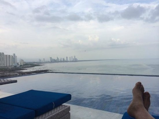 Trump International Hotel & Tower Panama: Mini Lap pool