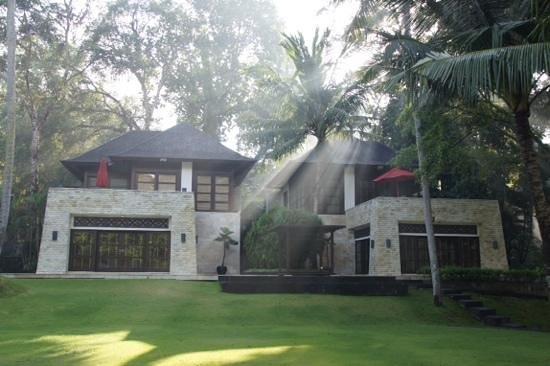 Villa The Sanctuary Bali: Another beautiful morning at the Villa