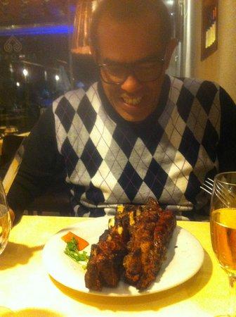 Alcorta Carnes y Vino: porções generosas