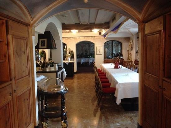 Hotel Adler: una sala da pranzo