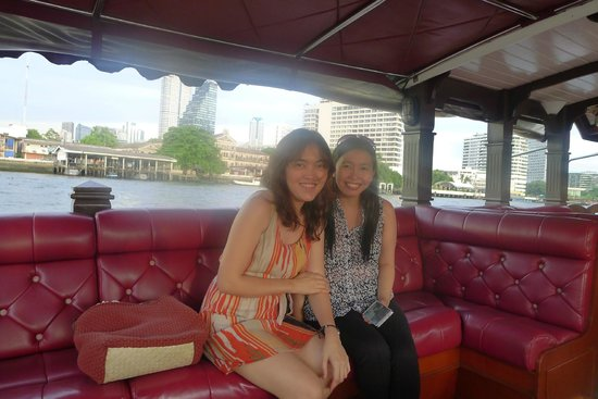 Royal Orchid Sheraton Hotel & Towers : on the lovely hotel river shuttle