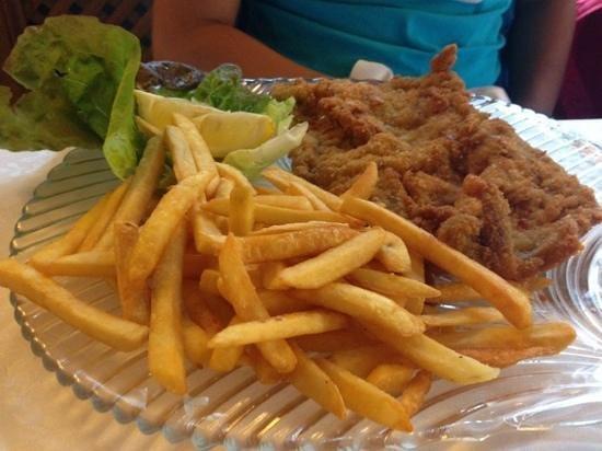 Hotel Adler: cotoletta e patatine