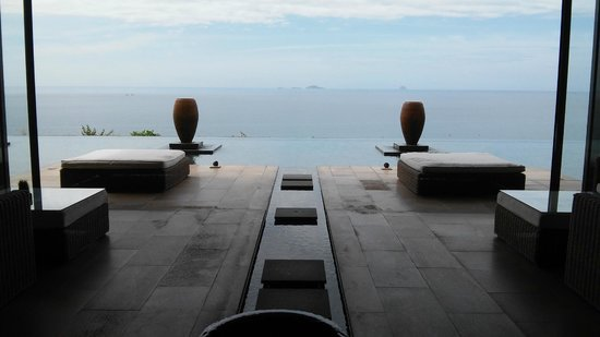 Mia Resort Nha Trang: The view from the reception