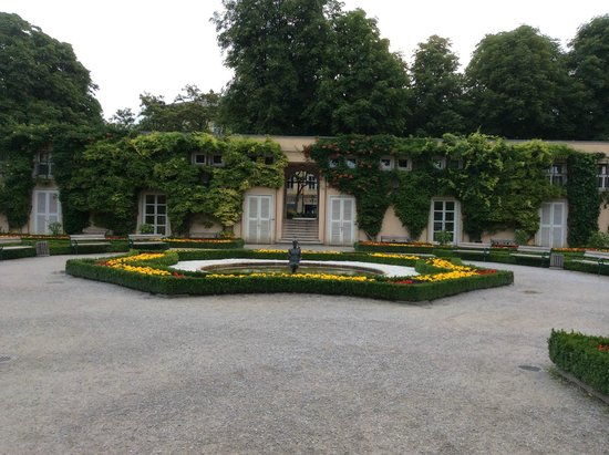 Mirabell Palace and Gardens: one of the side gardens