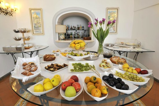 Hotel Miramare : breakfast