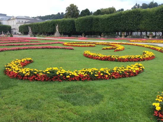 Mirabell Palace and Gardens: Another view of the garden