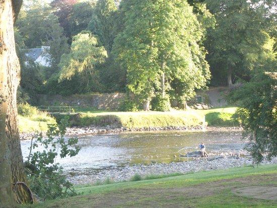 Banchory Lodge: river