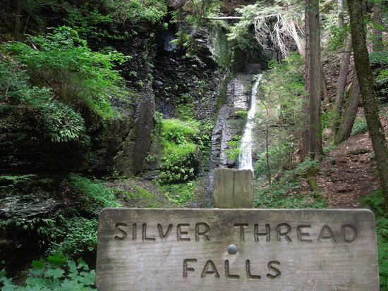 Dingmans Falls : Silver Thread Falls