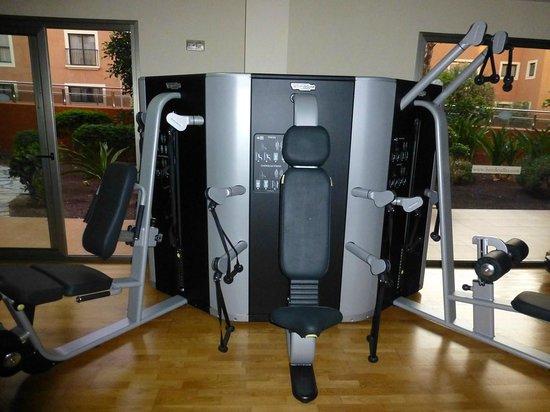 Hotel Elba Carlota : fitnessruite in orde!