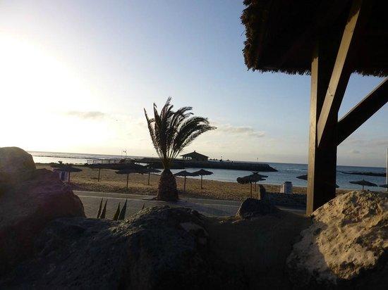 Hotel Elba Carlota : tegen het strand
