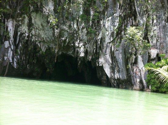 Puerto Princesa Underground River: Underground river in Palawan..