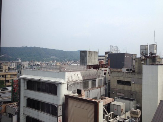 The Royal Park Hotel Kyoto Sanjo: View from Deluxe Twin room on 7th floor