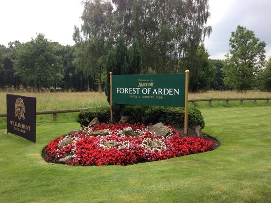 Marriott Forest of Arden Hotel & Country Club: Welcome