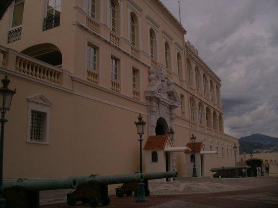 Prince's Palace (Palais du Prince) : vue de profil