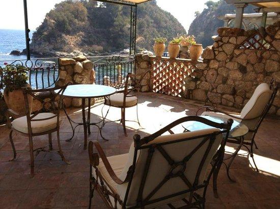 Grand Hotel Atlantis Bay: Terrazzino della camera