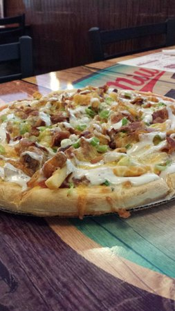Spot Cafe & Restaurant: Secret menu item! Texas Cheese Fry Pizza. Not for the faint of heart.