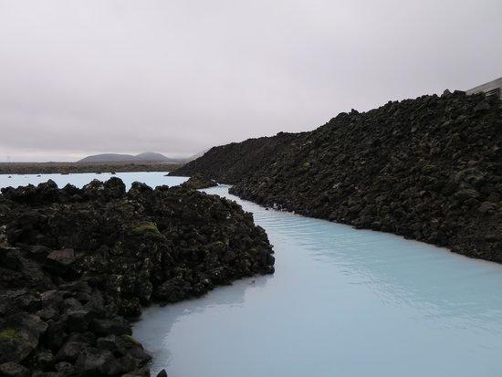 Lava Restaurant: blaue Lagune