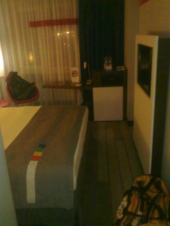 Park Inn by Radisson Sheremetyevo Airport Moscow Hotel: одноместный стандарт - от двери