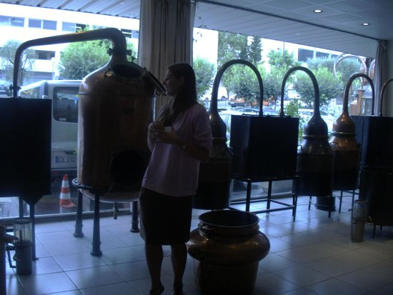 Parfumerie Fragonard : alambic