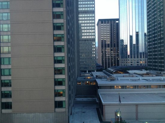 Hilton Boston Back Bay : View from Room #1000