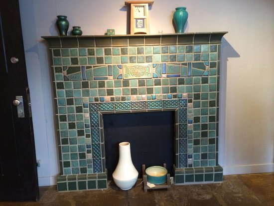 Fireplace Tiles - Picture of Pewabic, Detroit - TripAdvisor