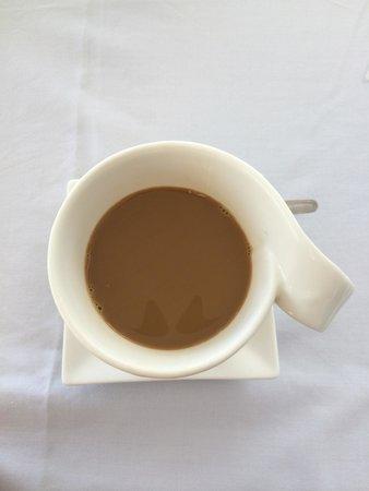 Mancora Marina Hotel : Cafe de la mañana