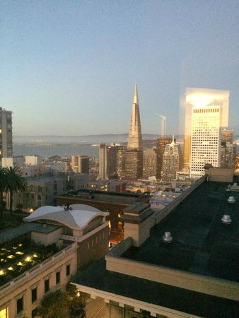 InterContinental Mark Hopkins San Francisco: SF from Intercontinental Mark Hopkins
