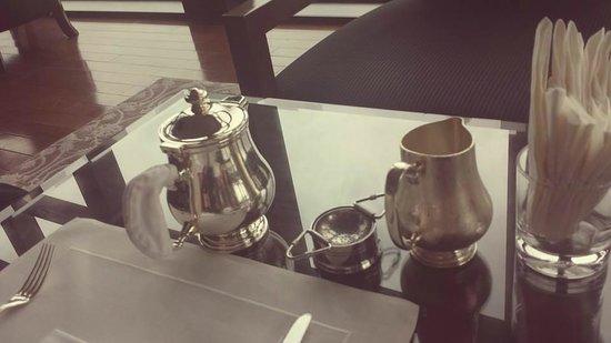 The St Regis Bar: Masala Chai tea