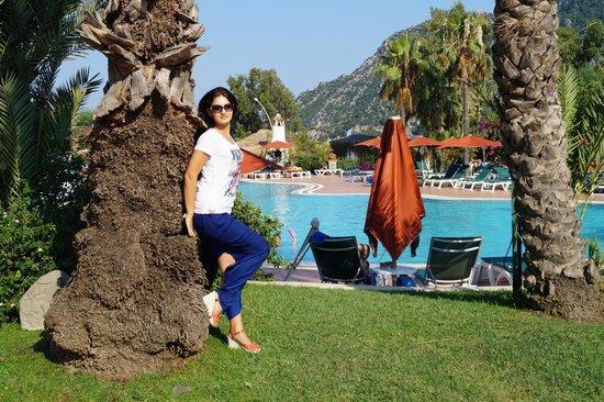 Marti Resort de Luxe : территория отеля
