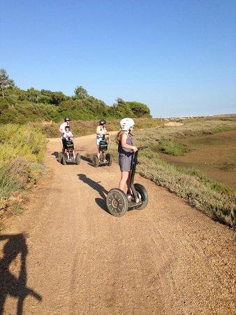 Algarve By Segway: On the Segway tour in Algarve