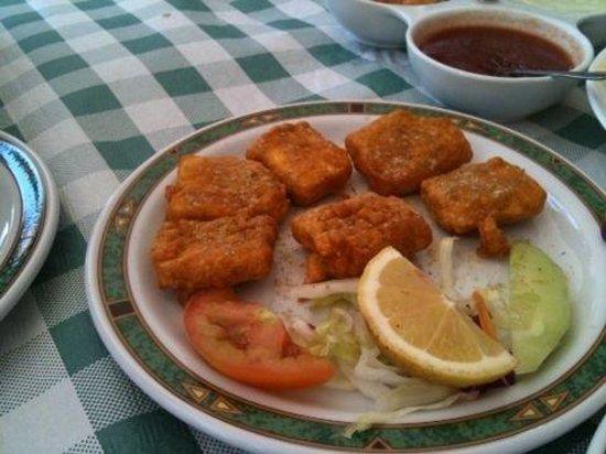 Shivam Indian Restaurant: Pakhora de queso