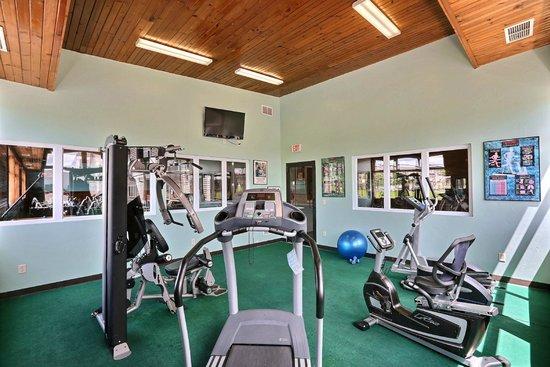 Econo Lodge Inn & Suites: Fitness Room