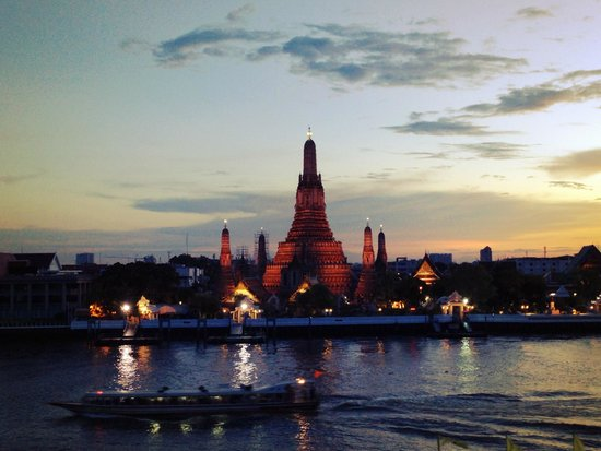 View of Wat Arun from The Deck