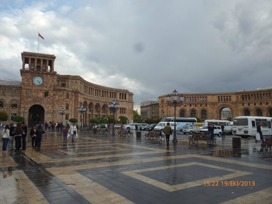 Republic Square: yerevan (capital of civilition)